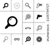 zoom icon. collection of 13...   Shutterstock .eps vector #1135759727