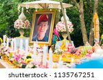 chiang rai  thailand july 16... | Shutterstock . vector #1135767251