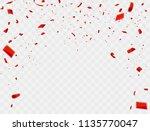 celebration background template ... | Shutterstock .eps vector #1135770047