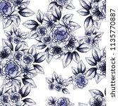 abstract elegance seamless... | Shutterstock .eps vector #1135770887