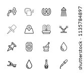 Drop Icon. Collection Of 16...