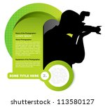 green vector abstract... | Shutterstock .eps vector #113580127