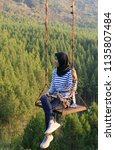 bandung  indonesia   july 7 ...   Shutterstock . vector #1135807484