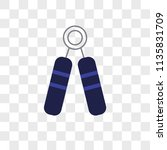 strength vector icon on... | Shutterstock .eps vector #1135831709