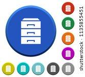 categorize round color beveled... | Shutterstock .eps vector #1135855451