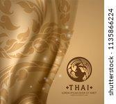 thai art vector | Shutterstock .eps vector #1135866224