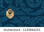 thai art vector | Shutterstock .eps vector #1135866251