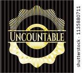 uncountable shiny emblem | Shutterstock .eps vector #1135880711