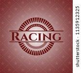 racing vintage red emblem | Shutterstock .eps vector #1135912325