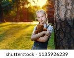 portrait beautiful of... | Shutterstock . vector #1135926239