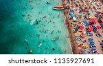 costinesti  romania   july 15 ... | Shutterstock . vector #1135927691