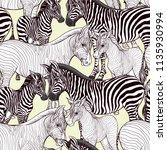 seamless pattern  background ... | Shutterstock .eps vector #1135930994