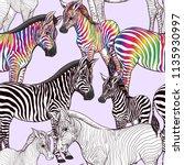 seamless pattern  background ... | Shutterstock .eps vector #1135930997