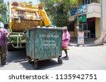 pondichery  puducherry  tamil...   Shutterstock . vector #1135942751