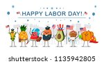 happy labor day concept... | Shutterstock .eps vector #1135942805