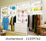 store of colorful bed linen ... | Shutterstock . vector #11359762