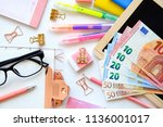 expensive educations costs in... | Shutterstock . vector #1136001017