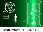 abstract background technology... | Shutterstock .eps vector #1136024111