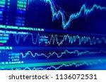 selective focus of business...   Shutterstock . vector #1136072531