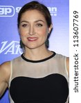 BEVERLY HILLS - SEP 21:  Sasha Alexander at the 'Variety and Women in Film Pre-Emmy Event' at Scarpetta on September 21, 2012 in Beverly Hills, California - stock photo