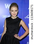 BEVERLY HILLS - SEP 21:  Kiernan Shipka at the 'Variety and Women in Film Pre-Emmy Event' at Scarpetta on September 21, 2012 in Beverly Hills, California - stock photo