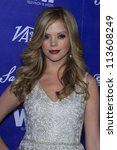 BEVERLY HILLS - SEP 21:  Dreama Walker at the 'Variety and Women in Film Pre-Emmy Event' at Scarpetta on September 21, 2012 in Beverly Hills, California - stock photo