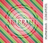 aberrant christmas colors...   Shutterstock .eps vector #1136145251