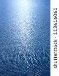 a beam of sunlight reflecting... | Shutterstock . vector #113616061