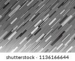 light silver  gray vector... | Shutterstock .eps vector #1136166644