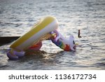 Small photo of Turndown giant unicorn float