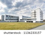 dessau  germany   march 30 ... | Shutterstock . vector #1136233157