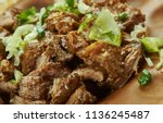 carnitas   mexican slow cooker... | Shutterstock . vector #1136245487