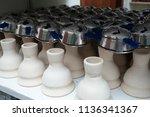 bowl for hookah | Shutterstock . vector #1136341367
