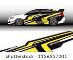 car decal graphic vector  truck ...   Shutterstock .eps vector #1136357201