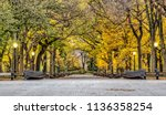 central park mall is a mall in ... | Shutterstock . vector #1136358254