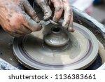 master class on modeling of... | Shutterstock . vector #1136383661
