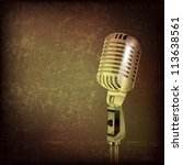 abstract grunge music... | Shutterstock .eps vector #113638561