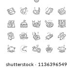 pork well crafted pixel perfect ...   Shutterstock .eps vector #1136396549