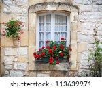 Medieval Window In Monpazier ...