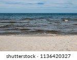 the horizon between the sky and ...   Shutterstock . vector #1136420327
