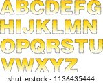 Cartoon Alphabet Letters In...