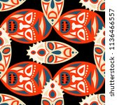 vector illustration. indian...   Shutterstock .eps vector #1136466557