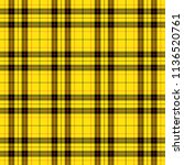 tartan pattern. scottish cage.... | Shutterstock .eps vector #1136520761