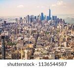 cityscape skyline of various...   Shutterstock . vector #1136544587