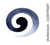 black white color of symbol... | Shutterstock . vector #1136578187