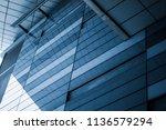 close up of modern office... | Shutterstock . vector #1136579294
