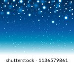 shiny lights background for... | Shutterstock .eps vector #1136579861