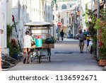 george town penang  15th july... | Shutterstock . vector #1136592671