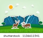 illustration vector design... | Shutterstock .eps vector #1136611541