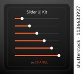 slider bar kit for ui design...